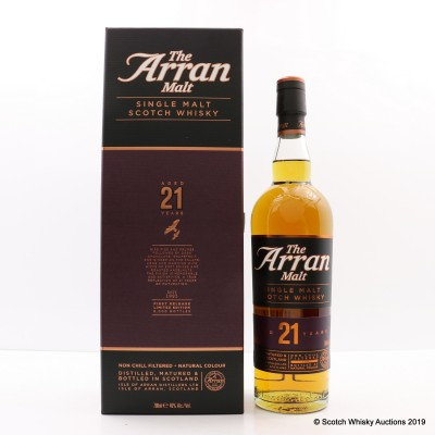 Arran 21 Year Old 1st Release