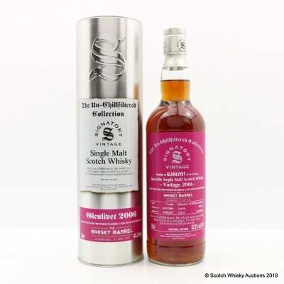 Glenlivet 2006 11 Year Old Signatory For The Whisky Barrel 10th Anniversary