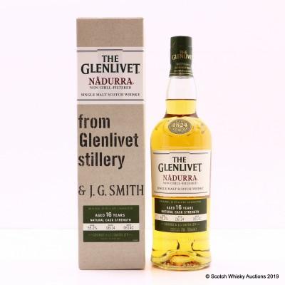 Glenlivet 16 Year Old Nadurra Cask Strength