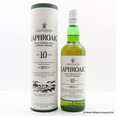 Laphroaig 10 Year Old to Commemorate the First Bottling at Springburn Bond