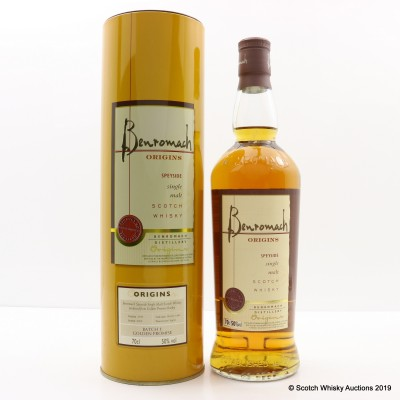 Benromach Origins Batch 1