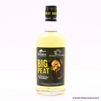 Big Peat Small Batch For 10 Years of The Whisky Festival Massen 50cl