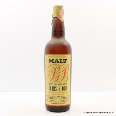 BB 5 Year Old Malt 75cl