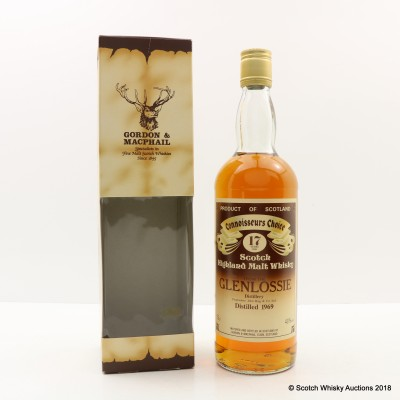 Glenlossie 1969 17 Year Old Connoisseurs Choice 75cl