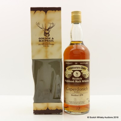 Caperdonich 1979 8 Year Old Connoisseurs Choice 75cl