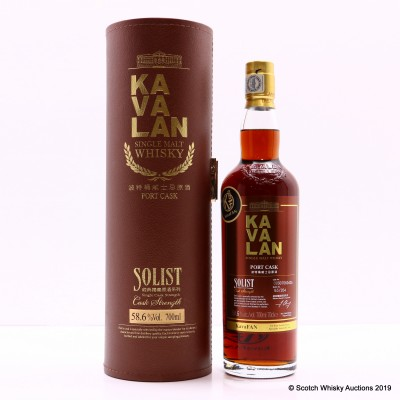 Kavalan Solist Port Cask