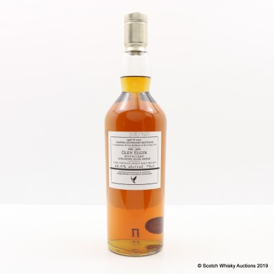 Glen Elgin 19 Year Old Centenary Bottling