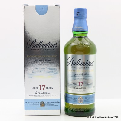 Ballantine's 17 Year Old Signature Distillery Scapa Edition