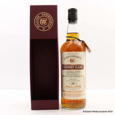 Glen Scotia 1999 18 Year Old Cadenhead's