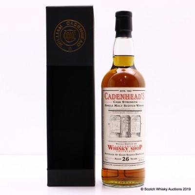 Glen Scotia 1992 26 Year Old For Cadenhead's Whisky Shop Edinburgh