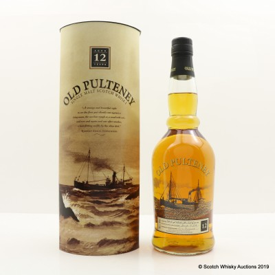 Old Pulteney 12 Year Old Old Style