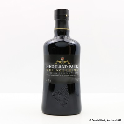 Highland Park The Dolphins Royal Navy Submarine Service Bottling