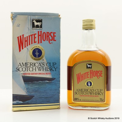 White Horse America's Cup Limited Edition 75cl
