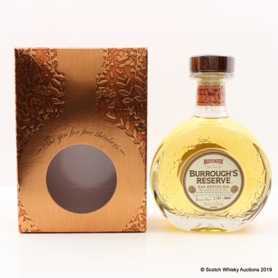 Beefeater Burrough's Reserve Gin Batch #1