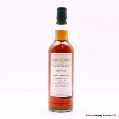 Arran 1996 16 Year Old Whisky Broker