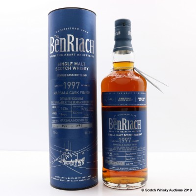 BenRiach 1997 18 Year Old Distillery Exclusive