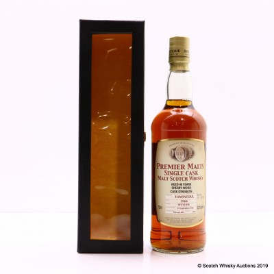 Tomintoul 1966 40 Year Old Premier Malts 75cl