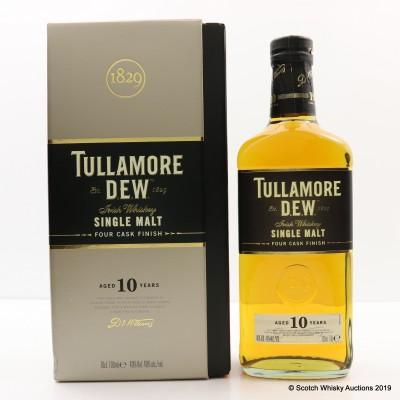 Tullamore Dew 10 Year Old Four Cask Finish