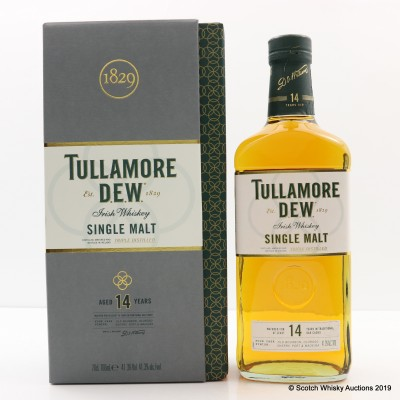 Tullamore Dew 14 Year Old Triple Distilled