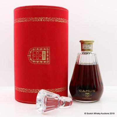 Camus Cognac Crystal Decanter