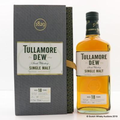 Tullamore Dew 18 Year Old Triple Distilled