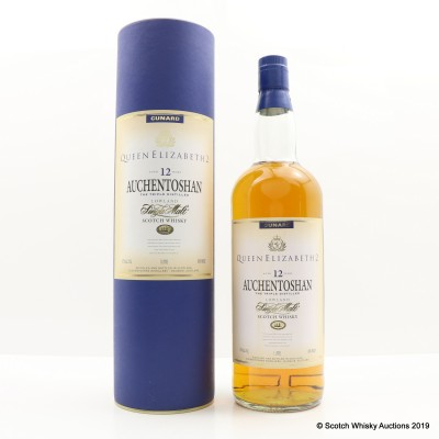 Auchentoshan 12 Year Old QE2 1L