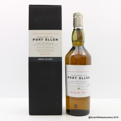 Port Ellen 1st Annual Release 1979 22 Year Old