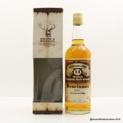 Benrinnes 1968 14 Year Old Connoisseurs Choice 75cl