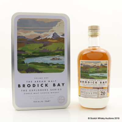 Arran 20 Year Old Explorers Series - Volume One 'Brodick Bay'