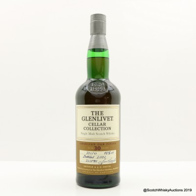 Glenlivet 30 Year Old Cellar Collection American Oak Finish