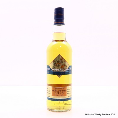 Highland Park 1995 15 Year Old Coopers Choice