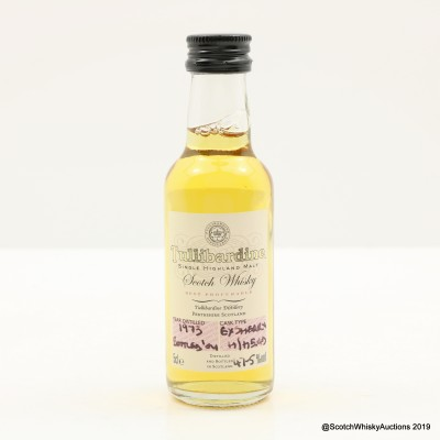Tullibardine 1973 Mini 5cl
