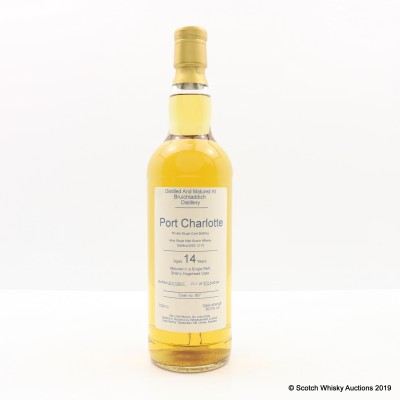 Port Charlotte 2003 14 Year Old Private Cask #857