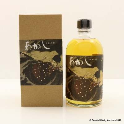 Akashi 2015 3 Year Old Ghost Series 9th Edition Cask #101520 50cl