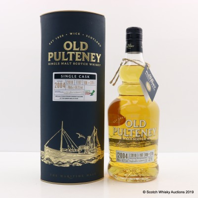 Old Pulteney 2004 Single Cask #197 Green Welly Stop Exclusive