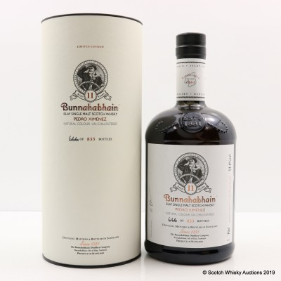 Bunnahabhain 11 Year Old Pedro Ximenez Limited Edition