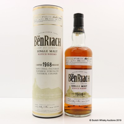 Benriach 1968 36 Year Old