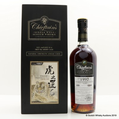 Speyside 1997 Tiger's Finest Selection Chieftain's