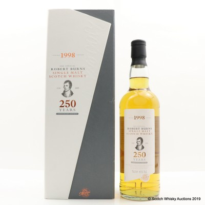 Arran 1998 Robert Burns 250th Anniversary Edition
