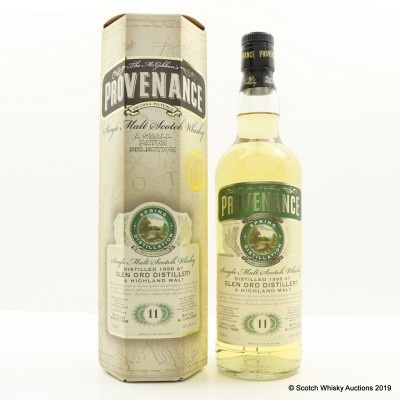 Glen Ord 1998 11 Year Old Provenance