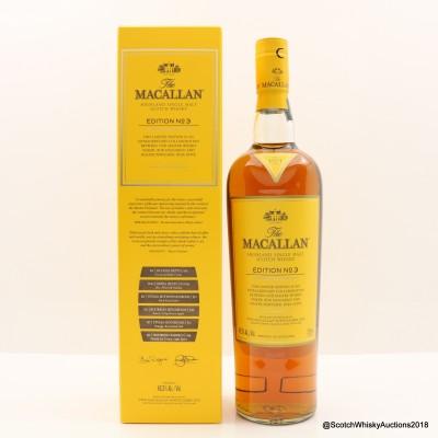 Macallan Edition No3 75cl