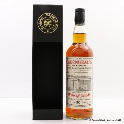 Distillerie Charpentier 50 Year Old Petite Champagne Cognac For Cadenhead's Whisky Shop Vienna