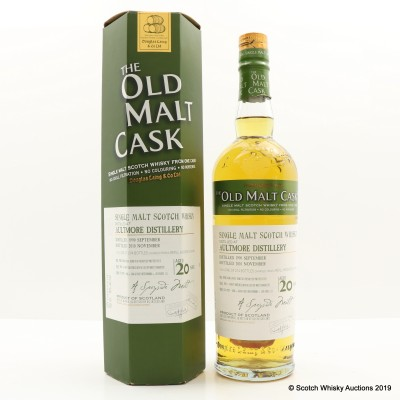 Aultmore 1990 20 Year Old Old Malt Cask