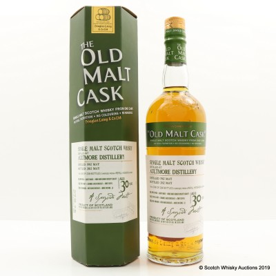 Aultmore 1982 30 Year Old Old Malt Cask