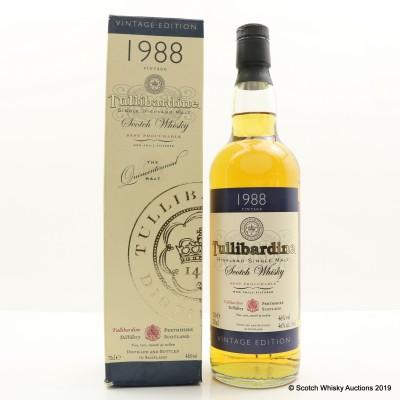 Tullibardine 1988 Vintage Edition