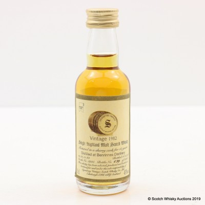 Benrinnes 1982 15 Year Old Signatory 5cl