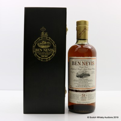 Ben Nevis 1966 51 Year old Single Cask #4278