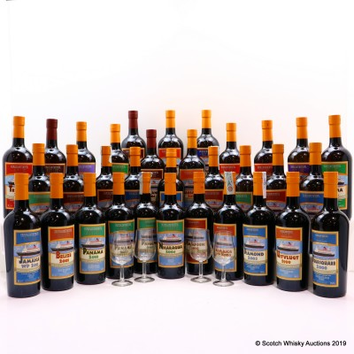 Transcontinental Rum Line Collection 33 x 70cl