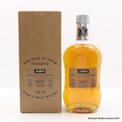Jura 1999 Heavily Peated Single Cask #5000 Special Island Edition