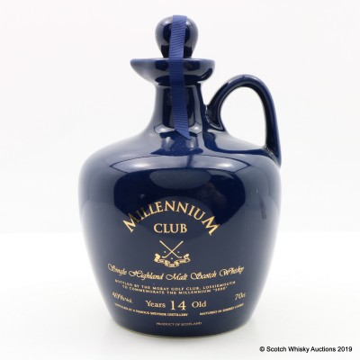 Speyside 14 Year Old Moray Golf Club Millennium Decanter
